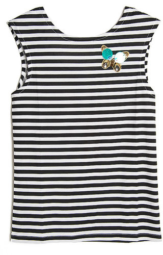 Sonia by Sonia Rykiel Butterfly and Stripe Tee
