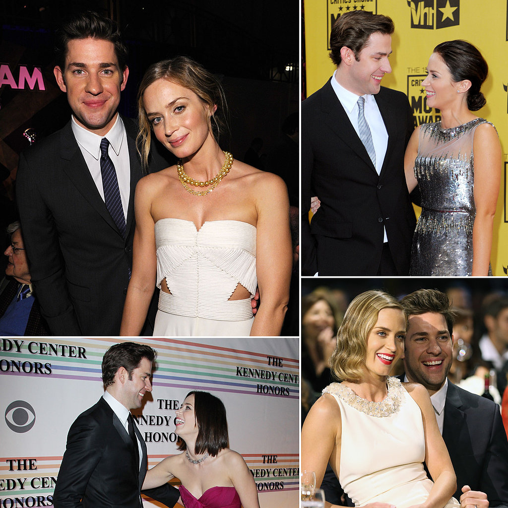 John Krasinski couple