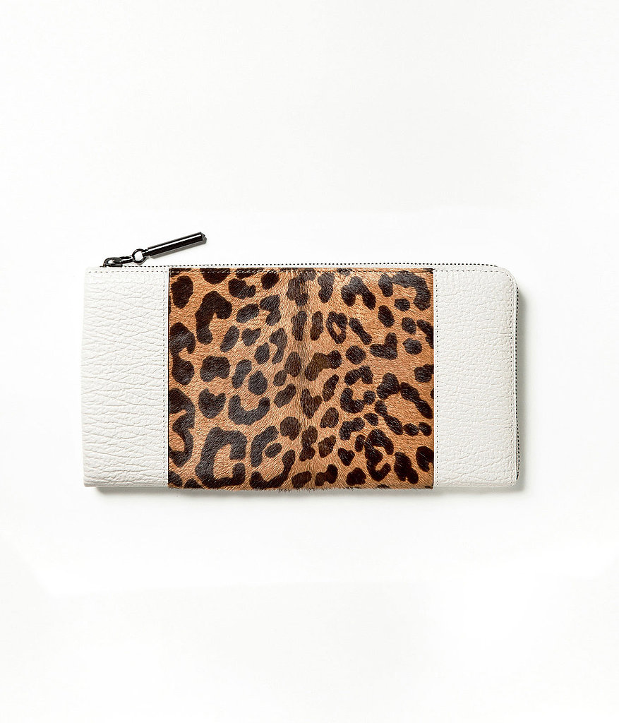Looking to carry your cash more stylishly? We're digging this part-leopard wallet ($350) from 3.1 Phillip Lim.