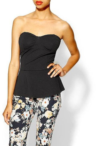 Tinley Road Strapless Ponte Bustier