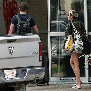 Miley Cyrus Visiting Liam Hemsworth in Canada | Pictures