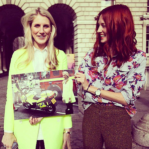 Style icon Taylor Tomasi Hill shared this cool throwback pic of herself (and those divine red locks) with Moda Operandi colleague Hayley Bloomingdale — the granddaughter of the Bloomingdale's heiress. Fashion royalty, anyone? Source: Instagram user ttomasihill