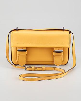 Reed Krakoff Academy Leather Crossbody Bag, Glow
