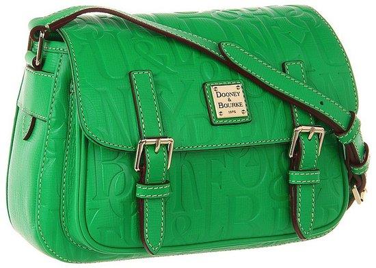 Dooney & Bourke - DB Retro 3.1 Small Safari Crossbody (Kelly Green) - Bags and Luggage
