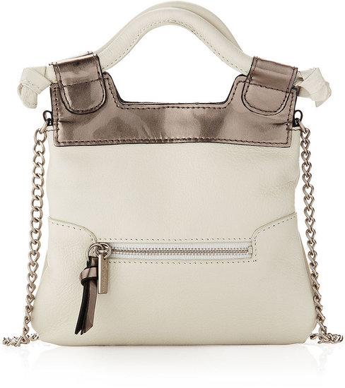 Foley + Corinna Tiny City Crossbody Bag, White Mirror