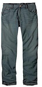 Dickies Men's Regular Straight Fit Five Pocket Jean, Stone Wash, 38X36