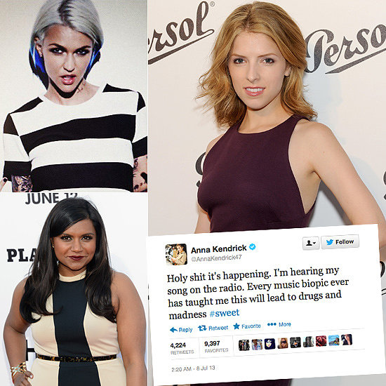 Tweets of The Week: Anna Kendrick, Ruby Rose, Mindy Kaling & More!