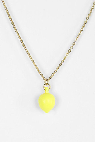 The Dirty Librarian X Urban Renewal Fruit Necklace