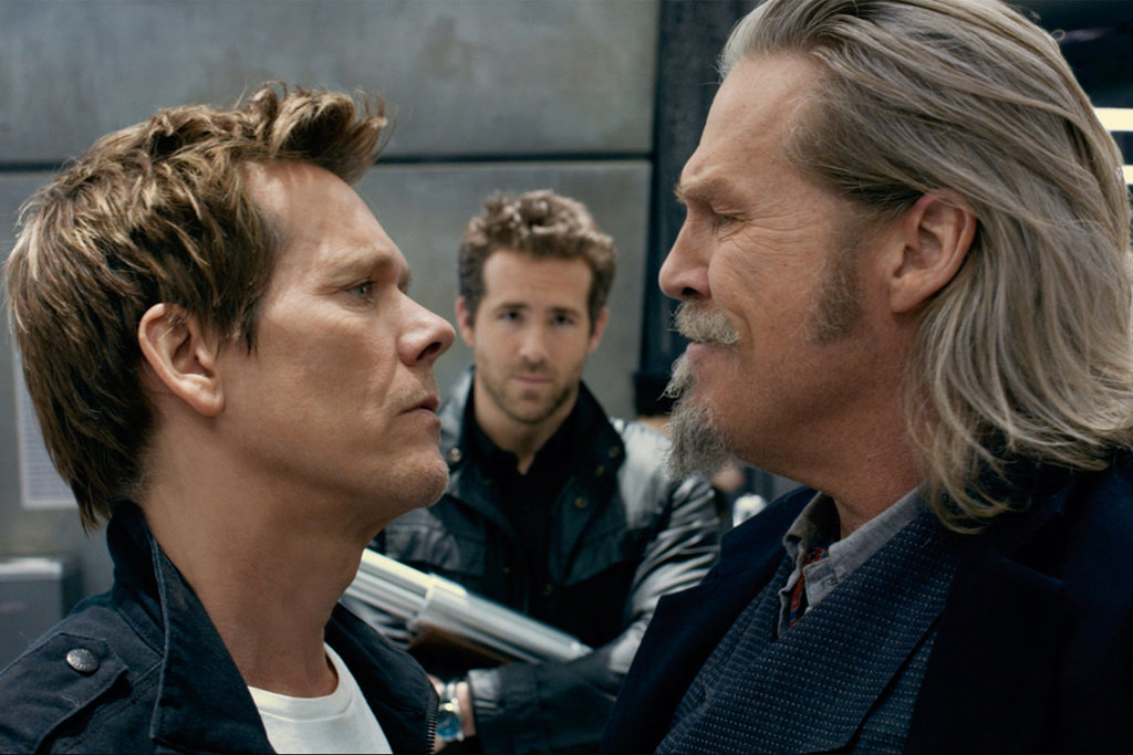 Nope, Kevin Bacon is definitely not one of the good guys.