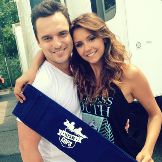 Nina Dobrev and Jake Johnson's Pictures From Let's Be Cops