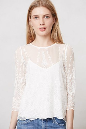Lace Frost Top