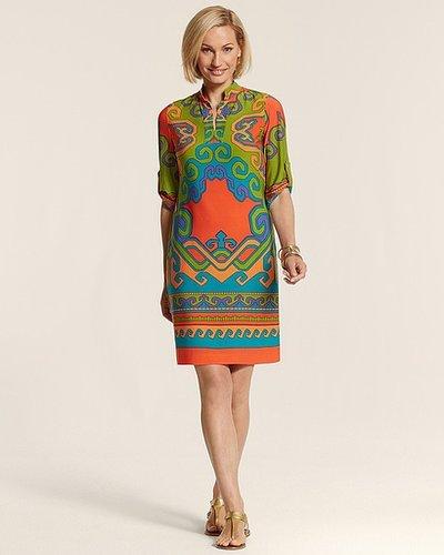 Multi Print Masi Dress