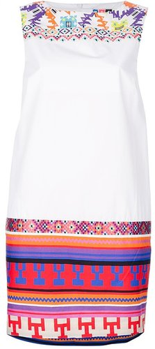 Msgm Aztec printed dress