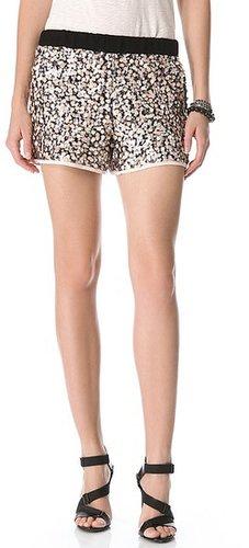 Diane von furstenberg Suki Sequin Shorts