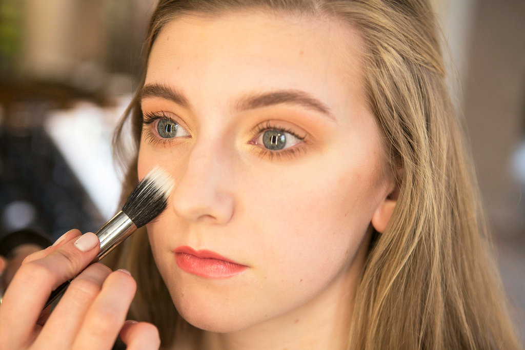 To ensure everything stays in place, set the entire look with Blot Powder ($26). Bettelli recommends applying with a brush for easier blending.