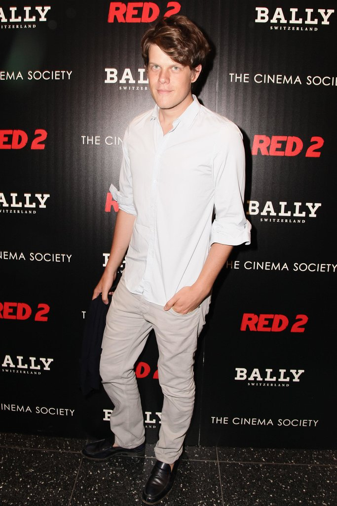 Wes Gordon joined Bally for a New York screening of Red 2.