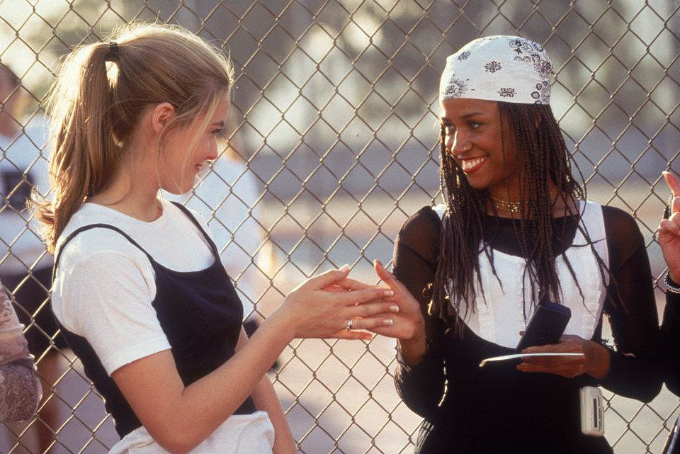 Cher and Dionne taught us that even gym class is an opportunity to show off your fashion sense. Beeper not included. Source: Facebook user Clueless