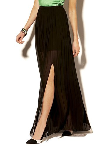 Vince Camuto Side Slit Maxi Skirt