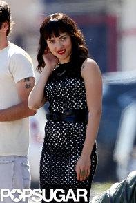 Scarlett-Johansson-wore-dark-wig-set-her-new-film-Chef