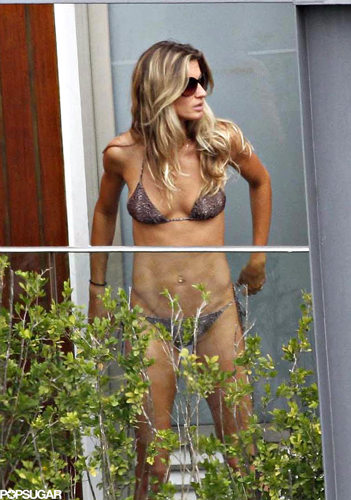 She stepped out in a bikini during her March 2011 trip to Brazil.