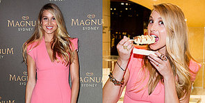Whitney Port Gives Her Sweet Tooth a Workout to Launch the Magnum Sydney Pleasure Store