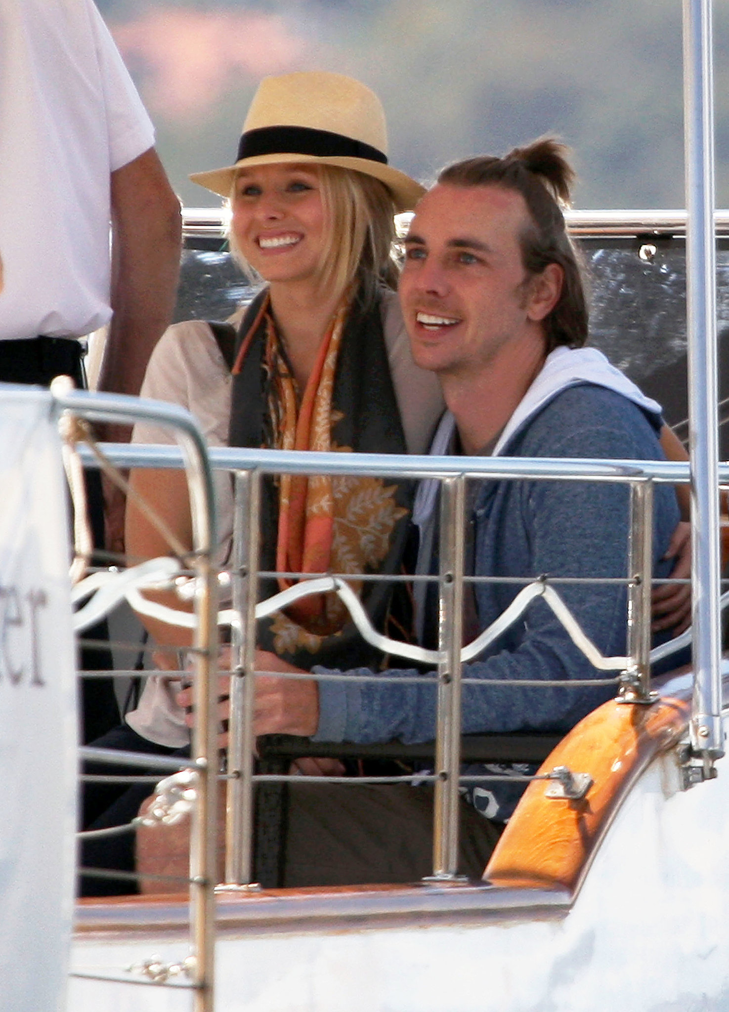 The pair went for a boat ride during a September 2009 trip to Sydney.