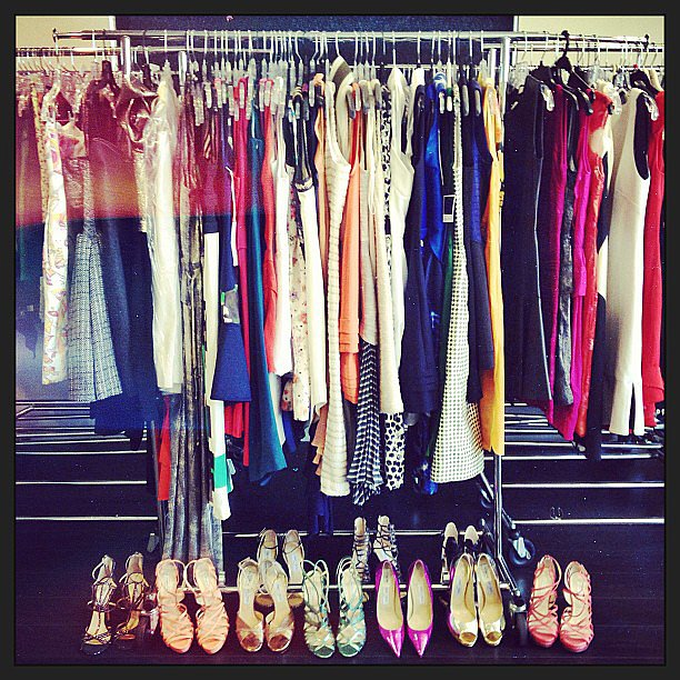 Rachel Zoe gave us a preview of Comic-Con with her selection of dresses and heels.  Source: Instagram user rachelzoe
