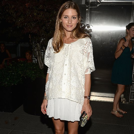 Shop Olivia Palermo's White Outfit | Video