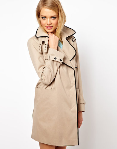 ASOS Contrast Band Trench