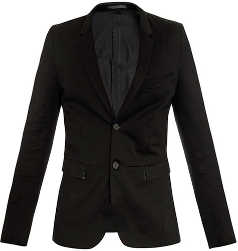 Paul Smith Unstructured cotton-jersey jacket