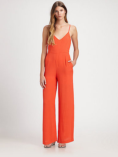 Line & Dot Open-Back Jumpsuit
