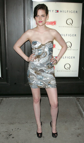 Stewart dazzled in a decadent Emilio Pucci strapless for the NYC premiere of The Runaways in March 2010.