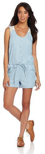 Sanctuary Clothing Women's Lace Back Romper