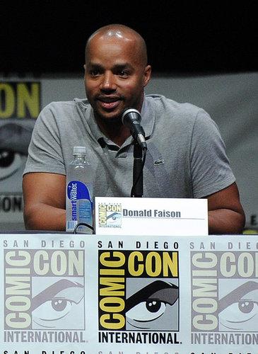 Donald Faison attended Comic-Con.