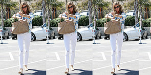 Gisele Tries a Fresh Floral Look For a Day of Shopping