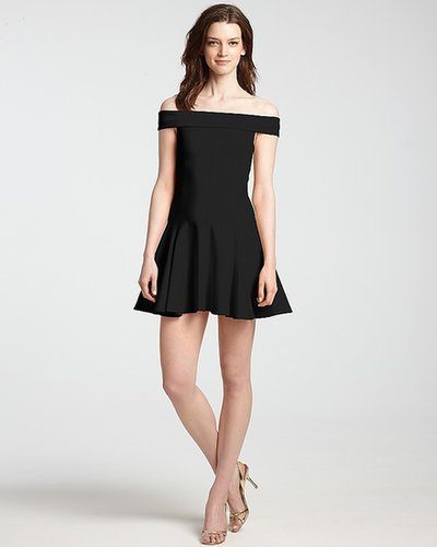 HALSTON HERITAGE Ponte Dress - Off Shoulder