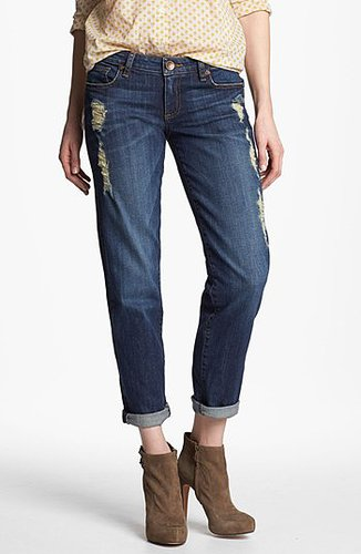 KUT from the Kloth 'Catherine' Slim Boyfriend Jeans (Casual Dark Stone) | Nordstrom