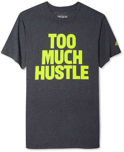 adidas Shirt, Too Much Hustle T Shirt