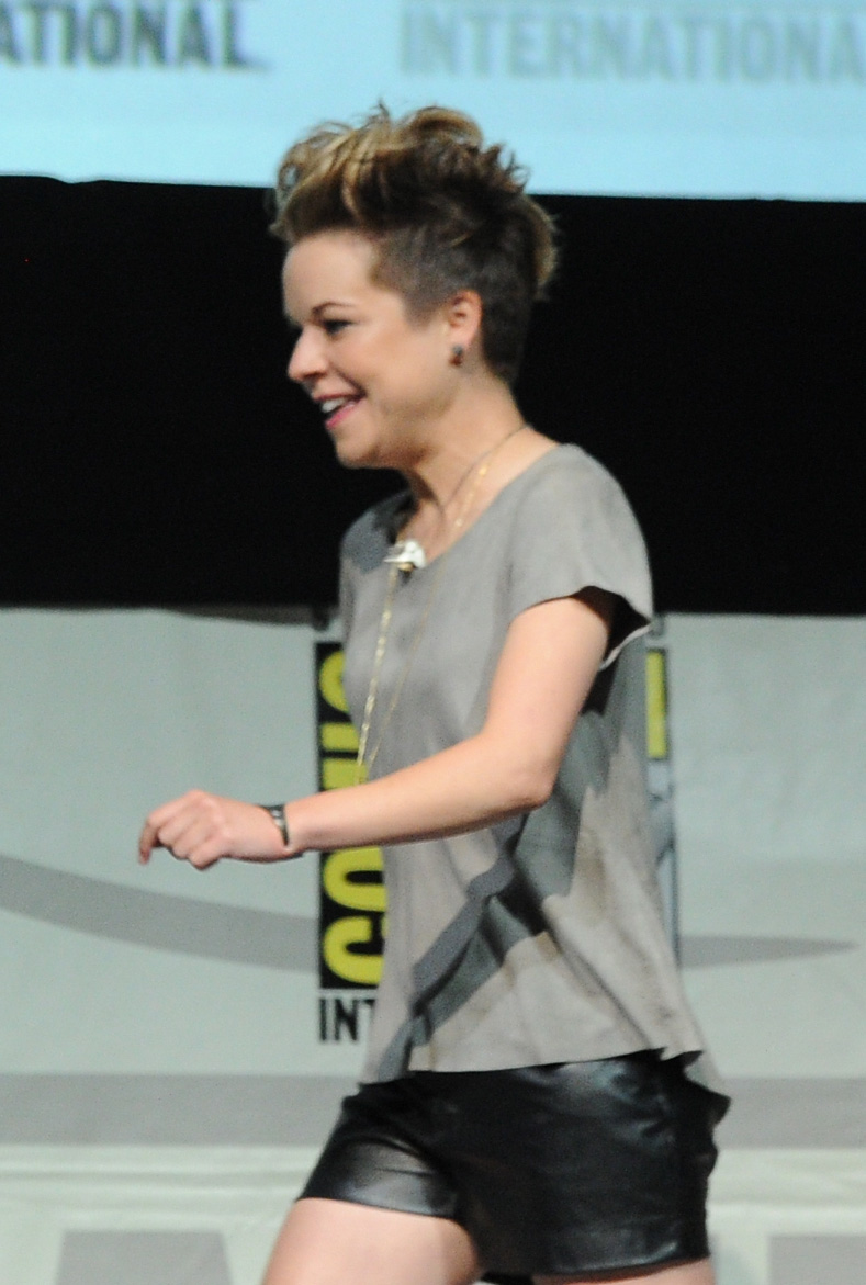Tina Majorino was also in attendance at the Veronica Mars event.