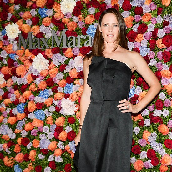 Jennifer Garner at Max Mara Fashion Campaign Party | Video