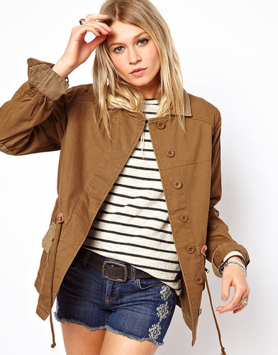 ASOS Contrast Multi Stitch Jacket