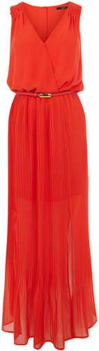 Maxi Pleat Dress
