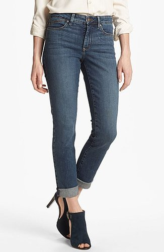 NYDJ 'Leeann' Stretch Skinny Boyfriend Jeans (Regular & Petite) Lockport Wash 2