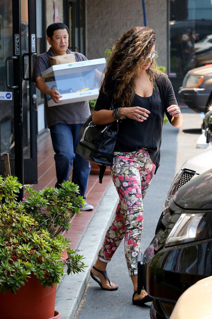 Camila Alves bought an aquarium.