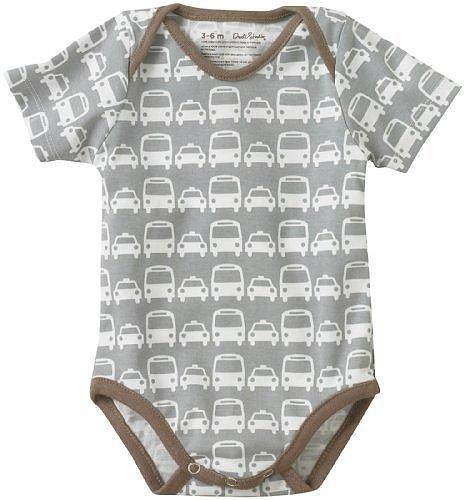 Dwell Baby-Boys Newborn Cars Short Sleeve Bodysuit