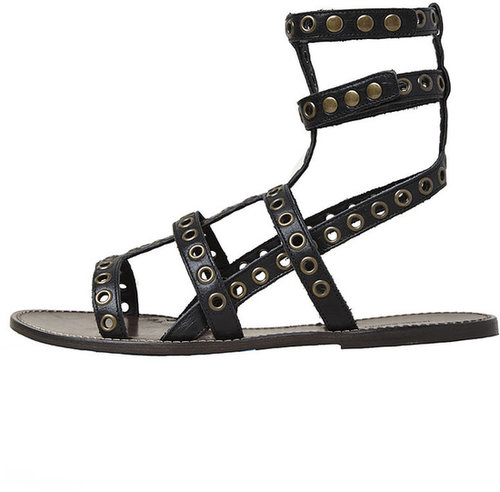 Isabel Marant / Lapaz Eyelet Flat Sandal