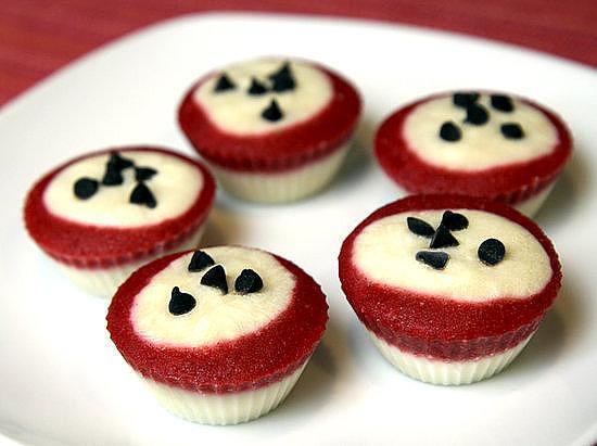 Frozen Yoghurt Cupcakes
