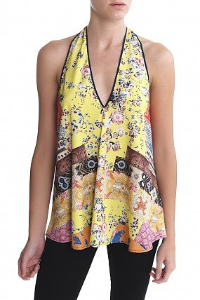 Clover Canyon Sari Top Multi