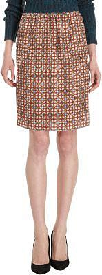 Carven Medallion Print Skirt