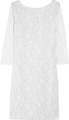Diane von Furstenberg Sarita embroidered tulle mini dress